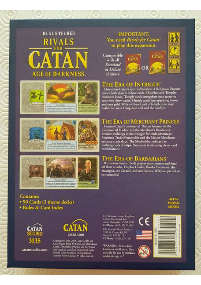 Catan: Rivals for Catan - Age of Darkness