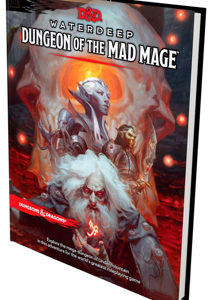 D&D 5e Waterdeep Dungeon of the Mad Mage