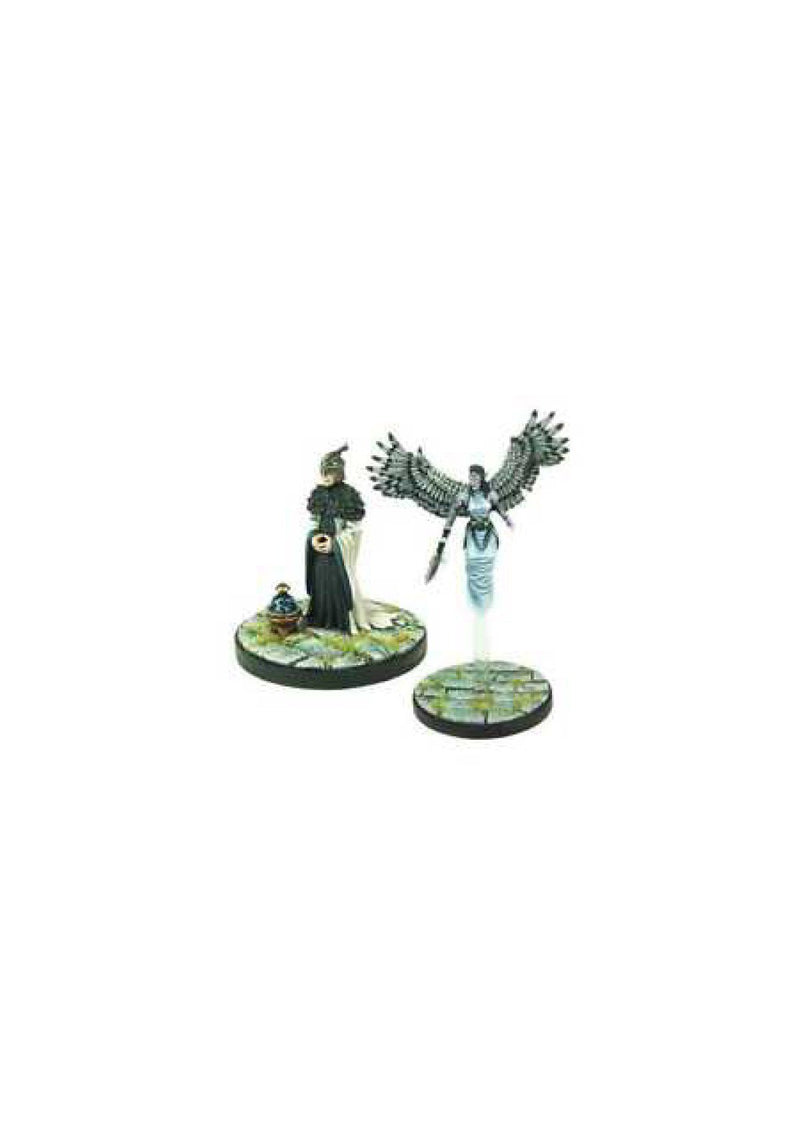 D&D Collector's Series Miniatures: Elemental Evil - Aerisi Kalinoth & Air Priest