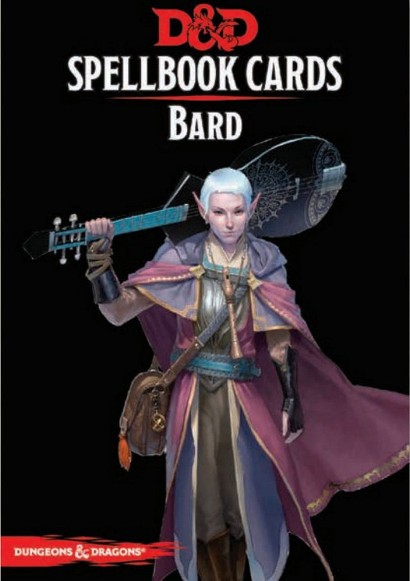 D&D Spellbook Cards: Bard Deck (110 Cards) Revised 2017 Edition