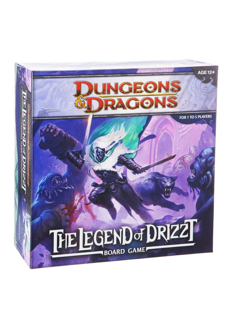 D&D The Legend of Drizzt Board Game