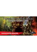 D&D Tomb of Annihilation DM Screen