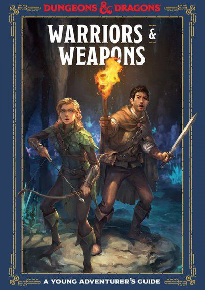 D&D Warriors & Weapons: A Young Adventurer's Guide