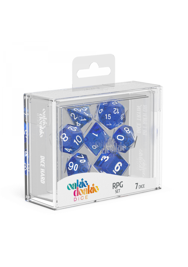 Dice: Oakie Doakie Dice RPG Set Speckled - Blue (7)