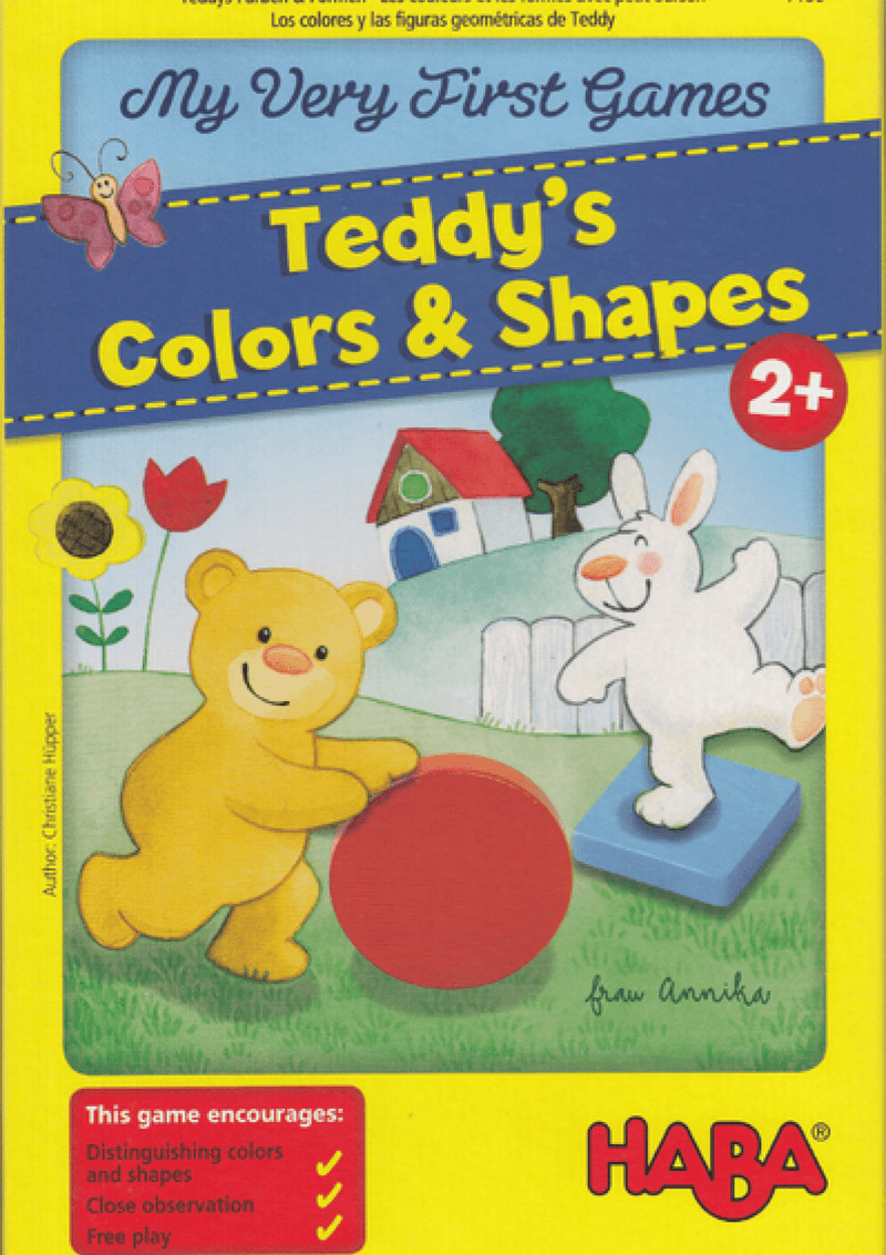 Haba: My Very First Games - Teddy's Colors & Shapes