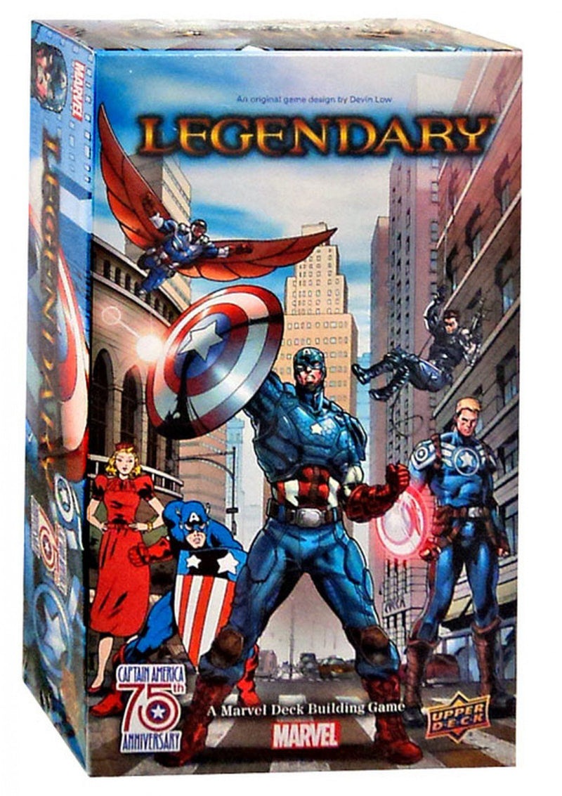 Legendary: A Marvel Deck Building Game - Captain America 75th Anniversary
