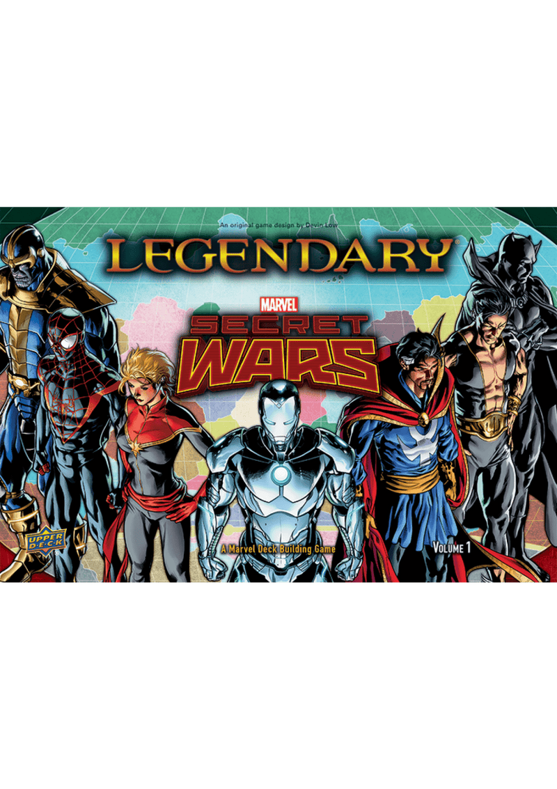 Legendary: A Marvel Deck Building Game - Secret Wars, Volume 1