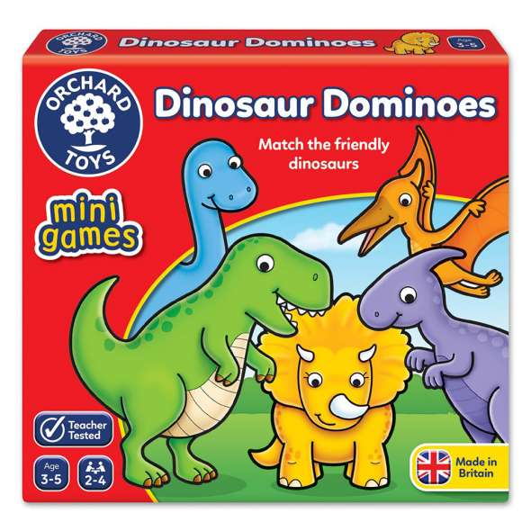 Orchard Toys: Dinosaur Dominoes