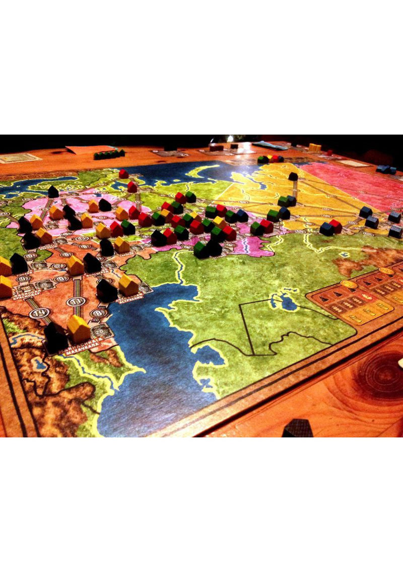 Power Grid: Russia & Japan