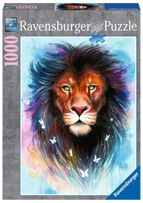 Puzzle: (1000 pc) Majestic Lion