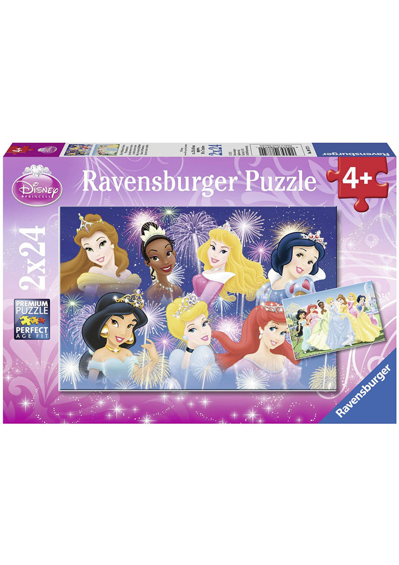 Puzzle: (2 x 24 pc) Disney Princesses Gathering