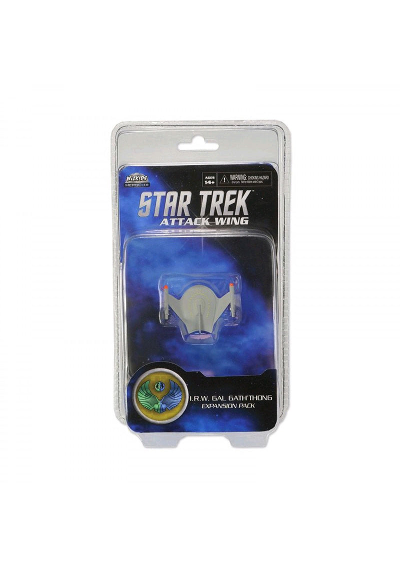 Star Trek Attack Wing: Wave 3 - IRW Gal Gath'Thong Expansion Pack