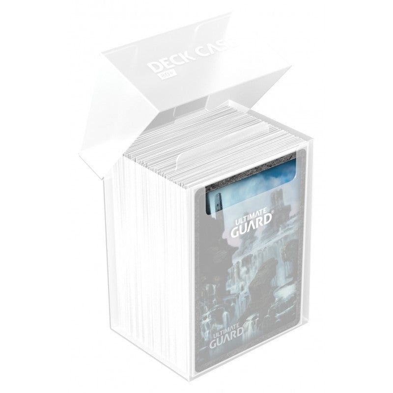 Deck Box: Ultimate Guard - Deck Case Standard 80+ Transparent