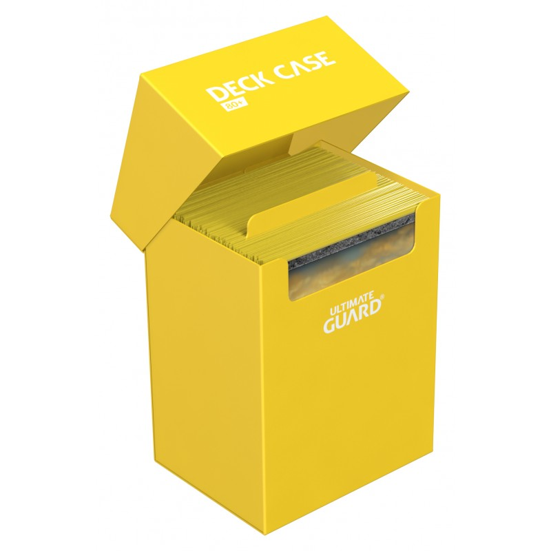Deck Box: Ultimate Guard - Deck Case Standard 80+ Yellow