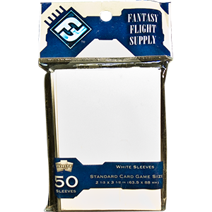 "Card Sleeves: FFG - 50 ""Standard Card Game"" White (63.5mm x 88mm)"