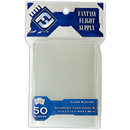 "Card Sleeves: FFG - 50 Grey ""Standard Card Game"" Clear (63.5mm x 88mm)"