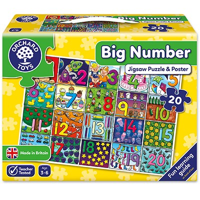 Orchard Toys: Big Number Jigsaw Puzzle