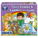 Orchard Toys: Fairy Snakes and Ladders and Ludo