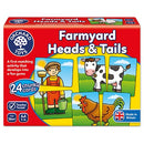Orchard Toys: Farmyard Heads and Tails