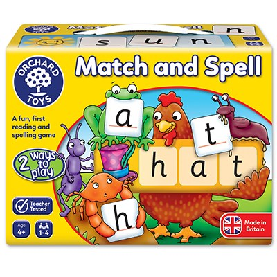 Orchard Toys: Match and Spell