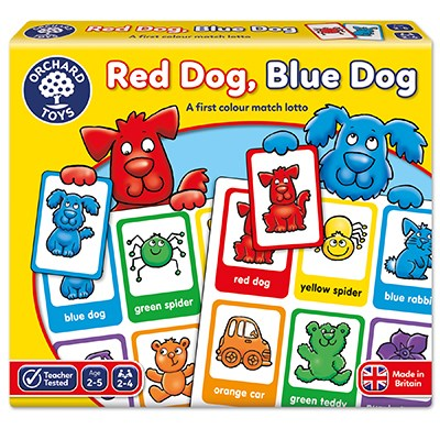 Orchard Toys: Red Dog, Blue Dog Lotto