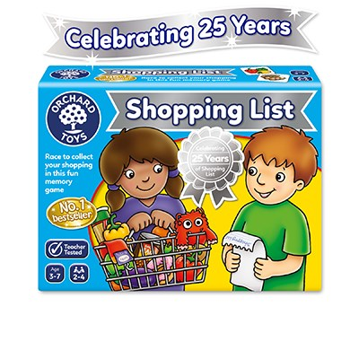 Orchard Toys: Shopping List