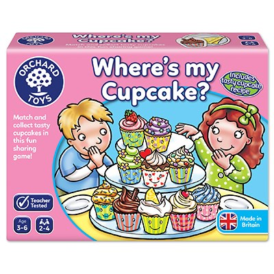 Orchard Toys: Where's My Cupcake?