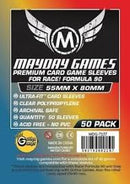 "Card Sleeves: Mayday - 100 Rainbow ""Race! Formula 90"" (55mm x 80mm)"