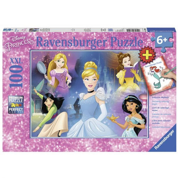 Puzzle: (100 pc) Disney Charming Princess Colour
