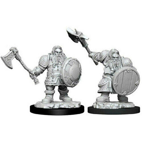 D&D Nolzur's Marvelous Unpainted Miniatures: Male Dwarf Fighter