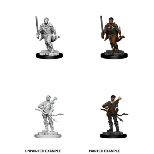 D&D Nolzur's Marvelous Unpainted Miniatures: Male Human Ranger - 2020 black background version