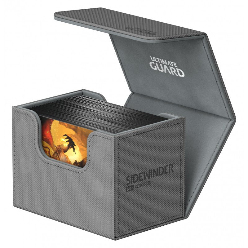 Deck Box: Ultimate Guard - Sidewinder Standard 80+ Grey
