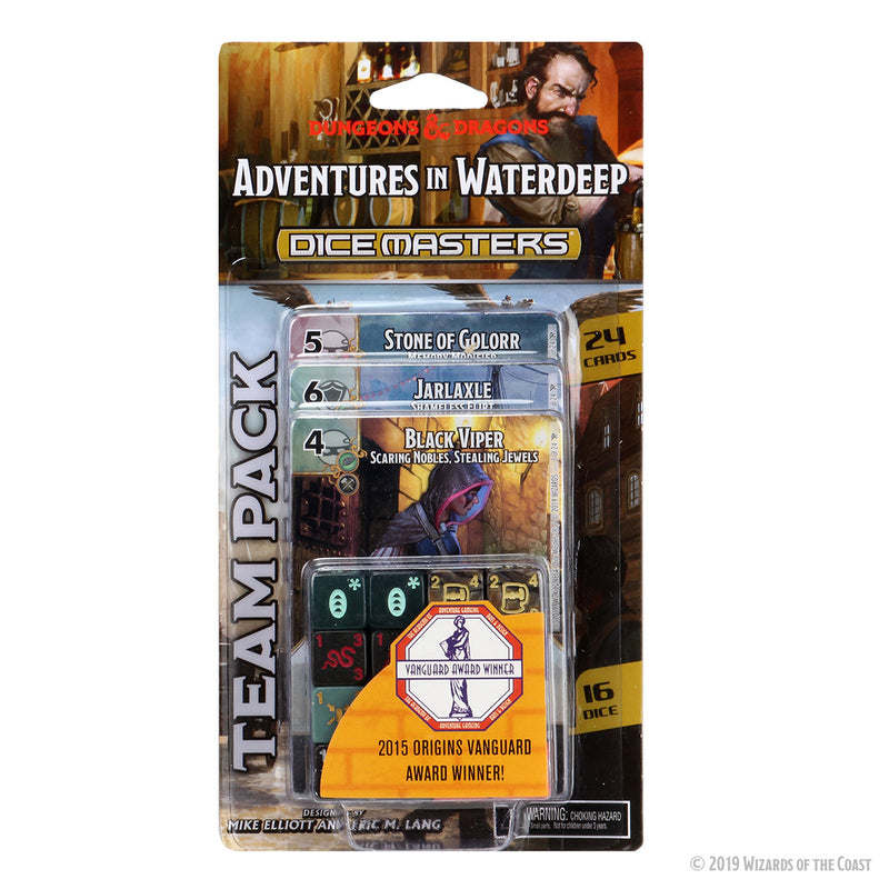 D&D Dice Masters: Adventures in Waterdeep Team Pack