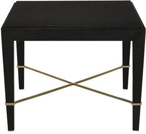 Currey and Company Verona Black Coffee Table