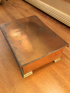 Copper Trinket Box