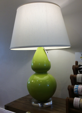 Load image into Gallery viewer, Robert Abbey Double Gourd Lamp