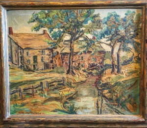 Original Oil Landscape