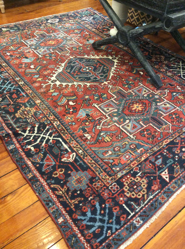 Semi-Antique Karaja Rug