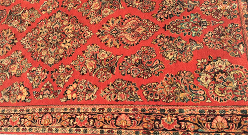 Semi-Antique Sarouk Rug