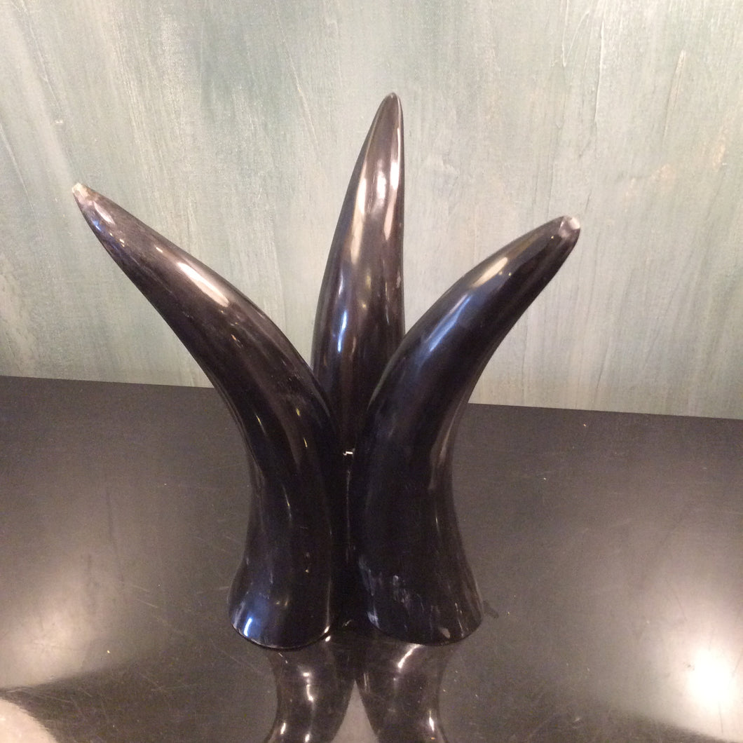 Blue Ocean Traders Cow Horn Centerpiece