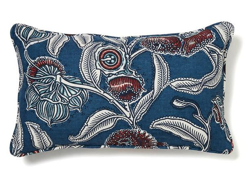 Utopia Goods Youngiana Indigo Cushion
