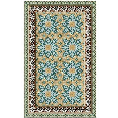 Beija Flor India Floor Mat