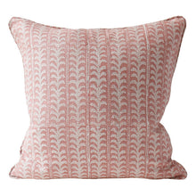 Load image into Gallery viewer, walter.g Luxor Guava Linen Pillow