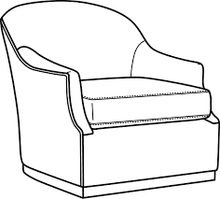 Load image into Gallery viewer, CR Laine Lincoln Swivel Chair