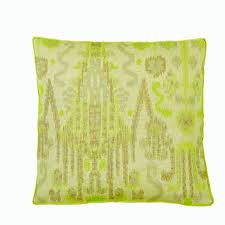 Lacefield Designs Citron Ikat Pillows