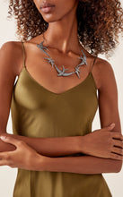 Load image into Gallery viewer, Lulu Frost Sparrow Two Tone Hematite Plated Necklace