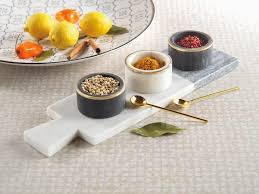Zodax Makrana Two-Tone Condiment Set