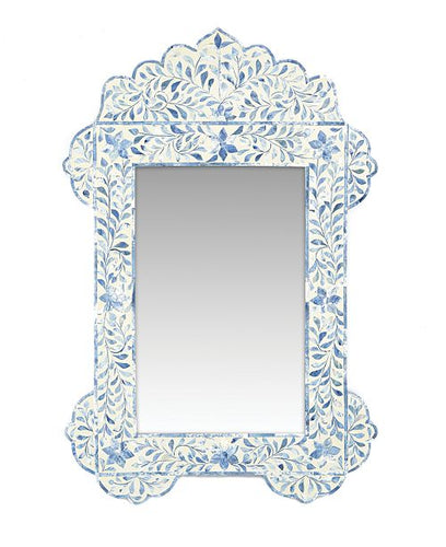 Two's Company Milos Bone Inlay Mirror