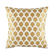 John Robshaw Gold Nadole Pillow
