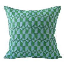 Load image into Gallery viewer, walter g. Sintra Emerald Linen Pillow